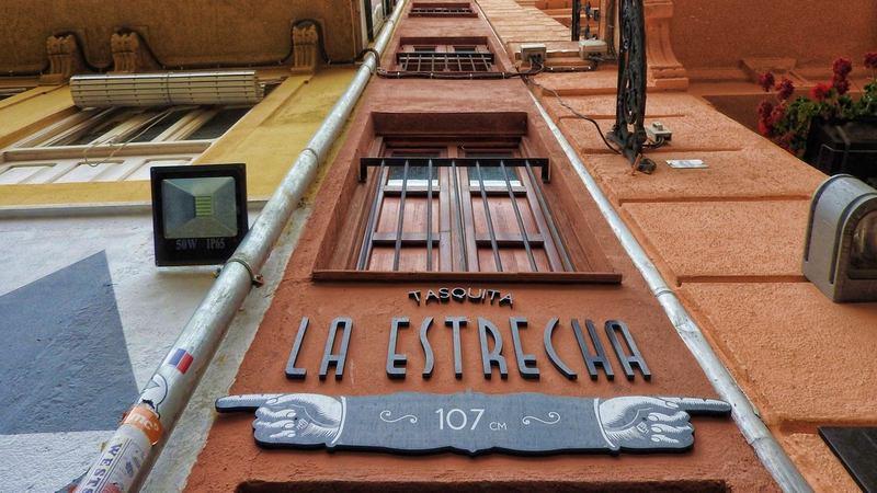 Самый узкий дом в Европе, самый узкий дом в Валенсии, малоизвестные достопримечательности Валенсии